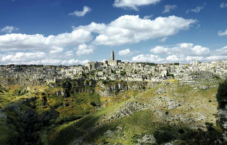 یک هتل منحصر به فرد در غارهای باستانی در Matera، ایتالیا