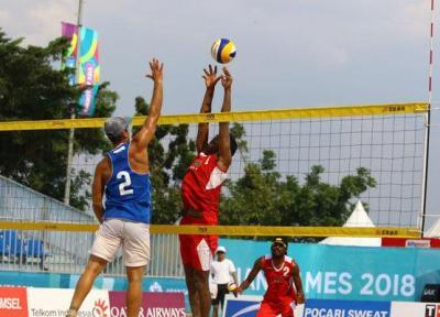 دومین پیروزی تیم ملی والیبال ساحلی الف با برتری مقابل ژاپن