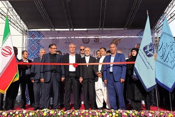 افتتاح سی امین نمایشگاه ملی صنایع دستی با حضور مقامات عالی رتبه