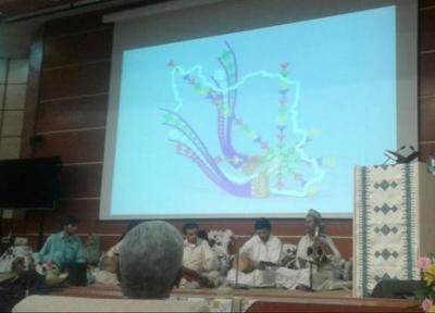 مراسم جشن ثبت ایرانشهر به عنوان شهر ملی سوزن دوزی برگزار گردید، رونمایی از تمبر یادبود شهر سوزن دوزی