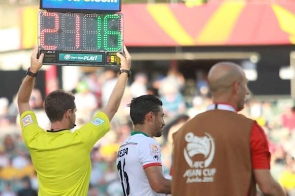 تعویض چهارم در جام ملتهای آسیا قطعی شد