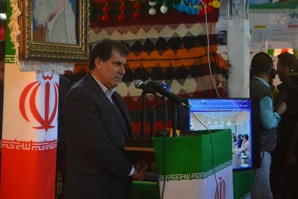 بازدید استاندار کهگیلویه وبویراحمد از دوازدهمین نمایشگاه بین المللی گدشگری تهران