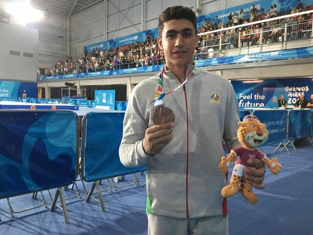 ژیمناست تاریخ ساز المپیک جوانان: خانه نشین شدم