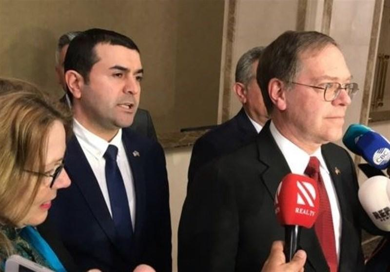 سفیر جدید آمریکا وارد آذربایجان شد