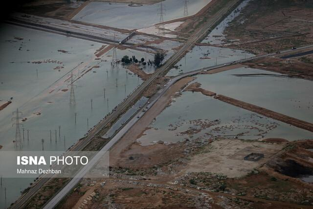 خسارت سیلاب به 14 هزار هکتار از اراضی کشاورزی چهارمحال و بختیاری
