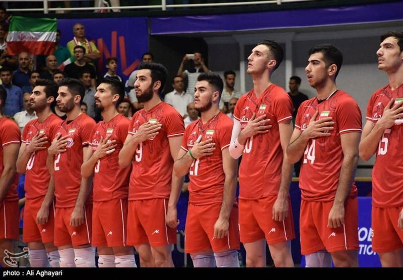 لیگ ملت های والیبال ارومیه، دیدار تیم های ملی ایران و کانادا به روایت تصویر