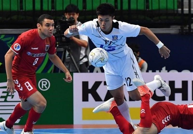 فوتسال قهرمانی باشگاه های آسیا، ناگویا اوشنز ژاپن با شکست نماینده ویتنام به فینال رسید
