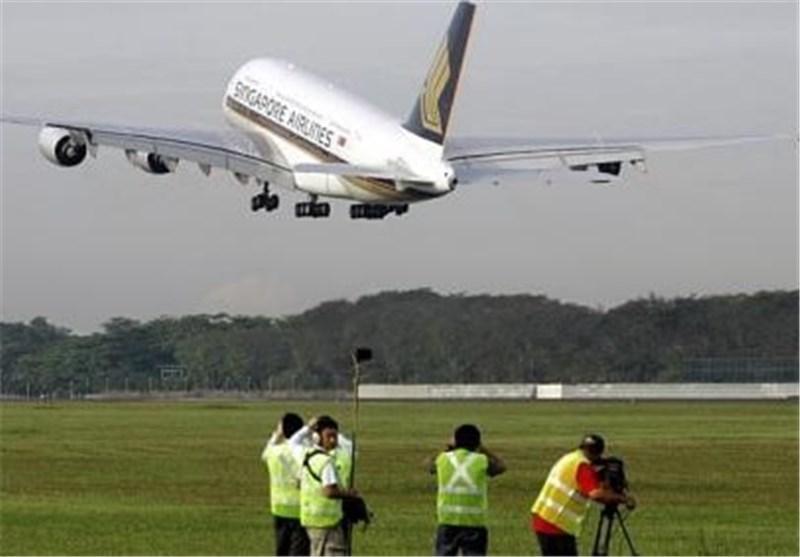 فرود اضطراری هواپیمای سنگاپور در آذربایجان به دلیل نقص فنی