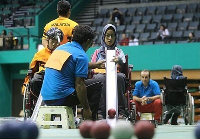 رجحان تیم بوچیای دوبل ایران مقابل سنگاپور