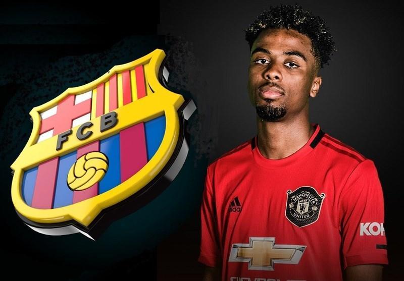 بارسلونا، ستاره جوان منچستریونایتد را زیر نظر دارد