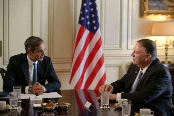 یونان: آمریکا در تحولات مدیترانه شرقی اعمال نفوذ کند