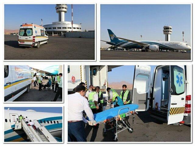 افت فشار زن باردار انگلیسی هواپیمای عمان ایر را در فرودگاه تبریز بر زمین نشاند