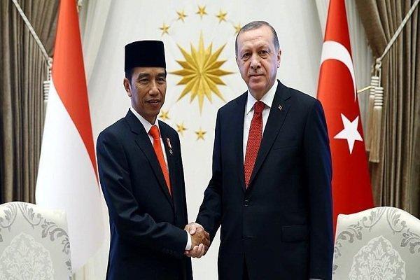 اردوغان با رئیس جمهوری اندونزی مصاحبه کرد