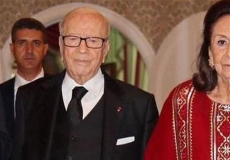 تونس، درگذشت همسر السبسی، تکذیب نتایج اولیه انتخابات خارج از کشور