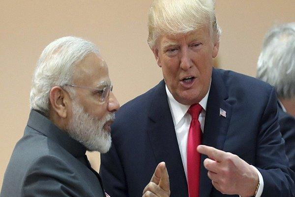 ترامپ با نخست وزیر هند دیدار کرد