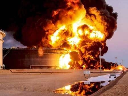 انفجار در پالایشگاه نفت چین