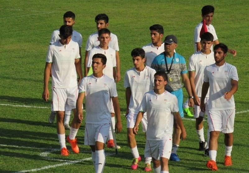 تساوی تیم فوتبال جوانان ایران در مسقط