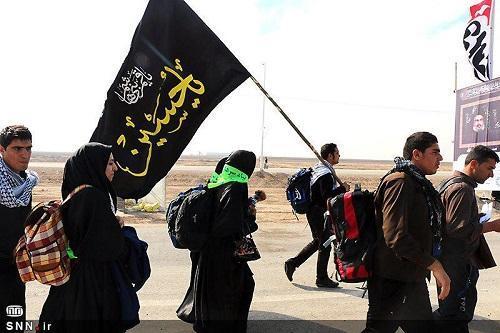 محصولات فرهنگی از سوی دانشگاه آزاد در بین زائران اربعین حسینی توزیع شد