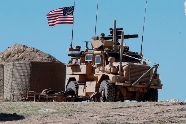 خروج نظامیان آمریکایی از یک پایگاه دیگر در سوریه
