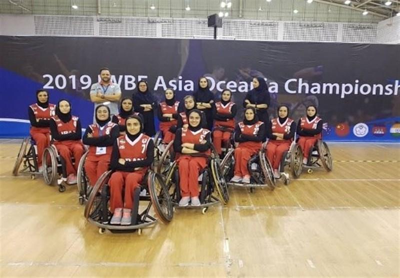 بسکتبال با ویلچر قهرمانی آسیا-اقیانوسیه، شکست تیم بانوان ایران مقابل تایلند