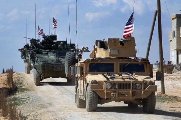 ورود 20 کامیون نظامی دیگر آمریکا از عراق به سوریه