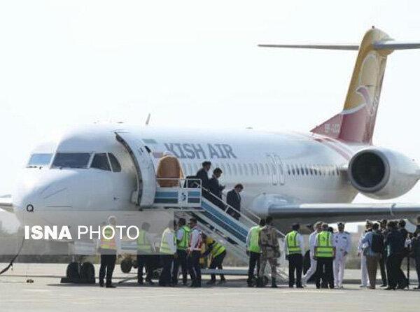 خط هوایی پرواز جاسک به تهران و بالعکس شروع به کار کرد