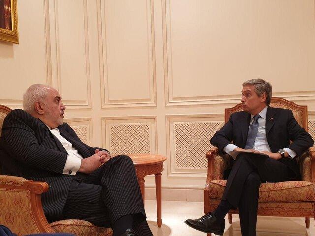 جزئیات ملاقات ظریف و وزیر خارجه کانادا درباره سقوط هواپیمایی اوکراینی
