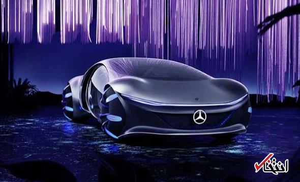 همکاری کارگردان هالیوودی و مرسدس بنز برای طراحی خودرویی رویایی