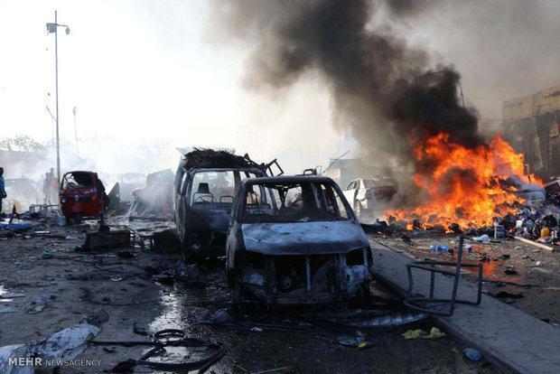 انفجار بمب در موگادیشو 90 کشته برجا گذاشت