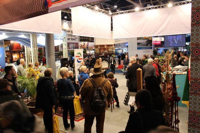 حضور گسترده شرکت های ایرانی در نمایشگاه گردشگری اوترخت هلند