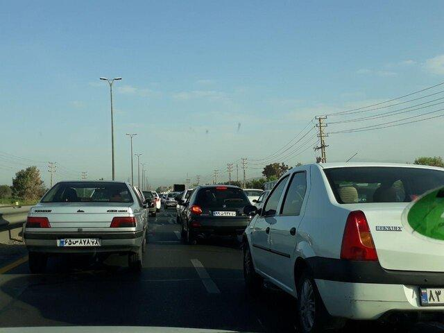 ترافیک سنگین در هراز، اختلالات ترافیکی در دیگر جاده ها مشاهده نمی گردد