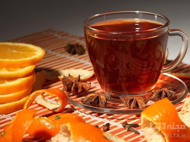 طرز تهیه دمنوش پرتقال