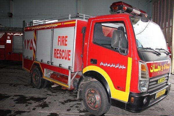 تجهیز یک دستگاه خودروی آمیکو در ناوگان آتش نشانی ملایر
