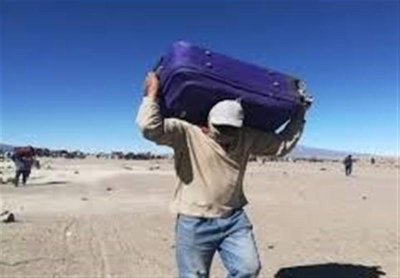 مهاجران بولیویایی در مرز شیلی به بن بست کرونا خورده اند