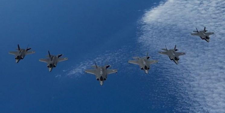 تحرک جنگنده های اف-35 آمریکا در قطب شمال