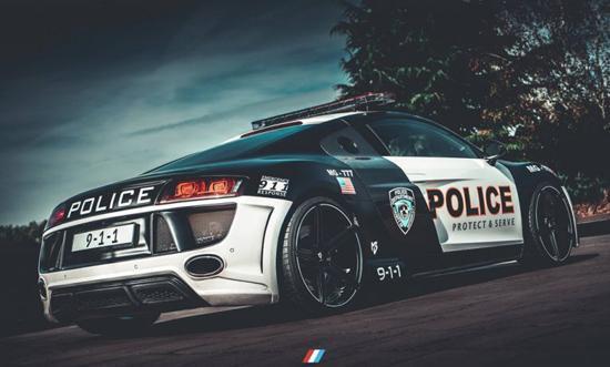نگاهی به 5 خودروی خاص پلیس در جهان