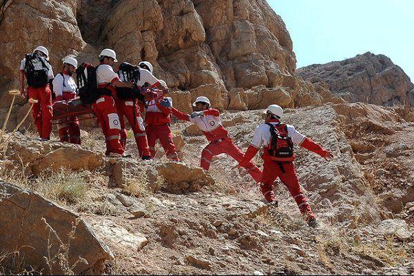 امداد و نجات 4ساعته برای نجات دو کوهنورد لرستانی در نهاوند