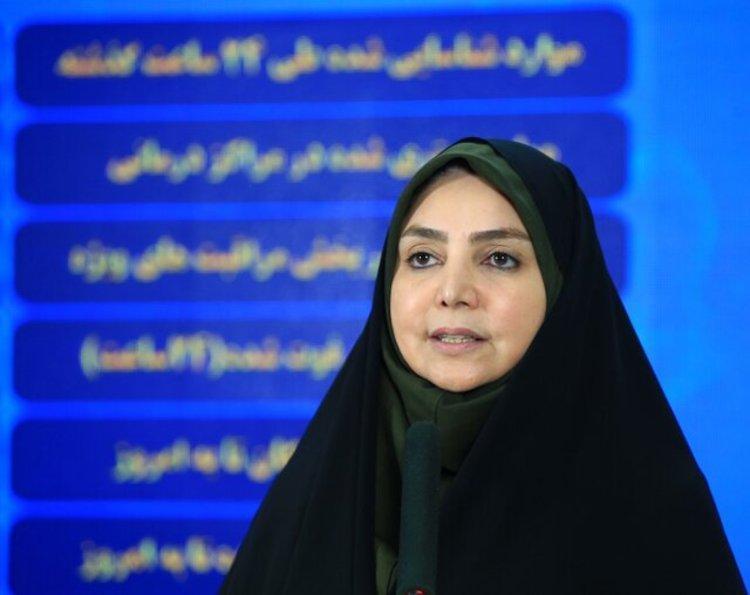 آمار کرونا در ایران امروز 21 تیر 99؛ 188 جان باخته کرونا در 24 ساعت گذشته ، 15 استان در شرایط قرمز و هشدار