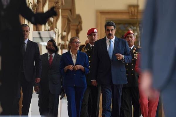 روسیه خواهان لغو تحریم های آمریکا علیه ونزوئلا شد