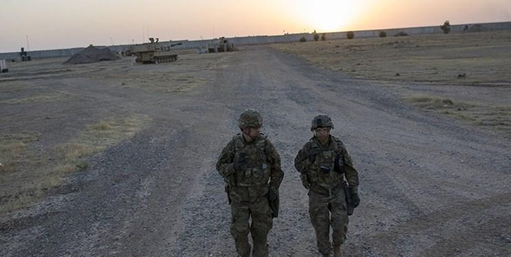 پایگاه تروریست های آمریکا در مرز عراق و کویت هدف نهاده شد