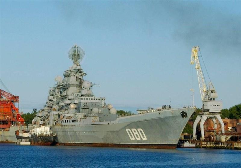 قدرتمندترین کشتی جنگی دنیا در ناوگان دریایی روسیه