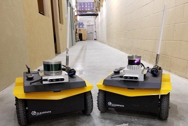 روباتی که تغییرات محیطی مشکوک را به سربازان خبر می دهد