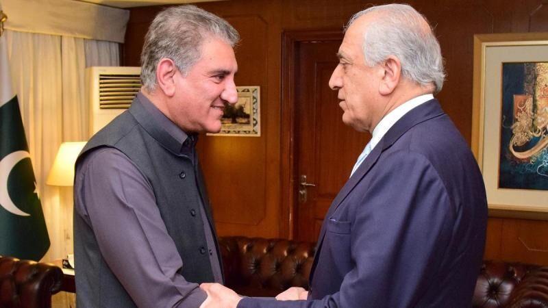 خبرنگاران هدف از دوره گردی جدید خلیلزاد به پاکستان چیست؟