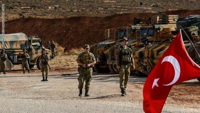 ارتش ترکیه یک پایگاه جدید در حومه رقه احداث می نماید
