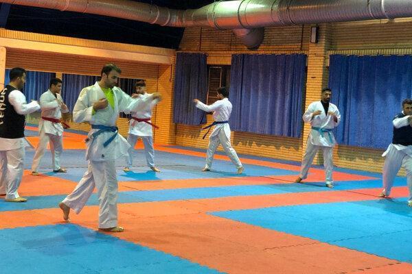 تست کرونای ملی پوشان کاراته منفی شد، آغاز تمرینات با بدنسازی