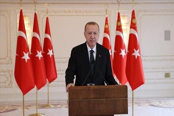 اردوغان: اتحادیهاروپا باید سریعتر از فشارهای تحمیلی رها گردد