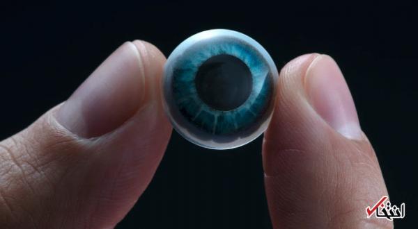 لنز چشم هوشمندی که با واقعیت مجازی کار می کند