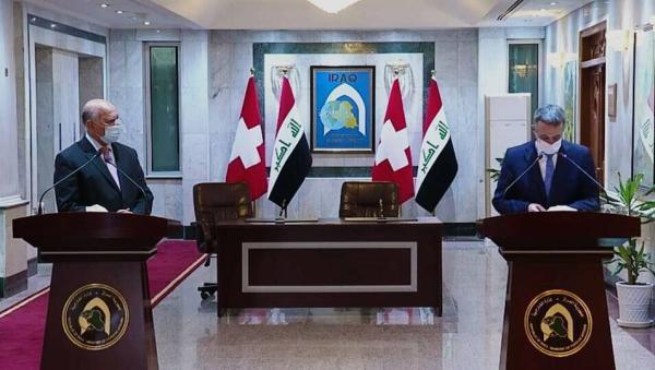 خبرنگاران وزیر خارجه سوییس از طرح راهبردی در خاورمیانه و شمال آفریقا اطلاع داد