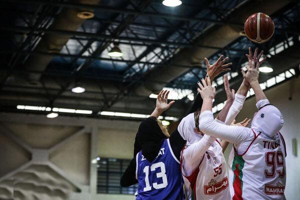 مشخص قهرمان لیگ بسکتبال بانوان به ملاقات سوم کشید