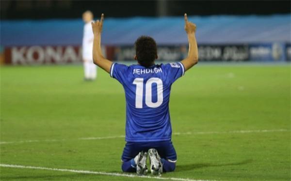 ستاره استقلال بهترین بازیکن هفته لیگ قهرمانان آسیا شد